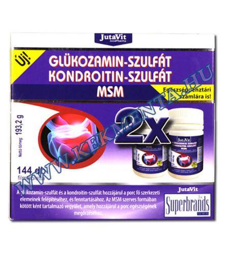 természetes glükozamin és kondroitin