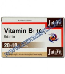 B1 vitamin, 10 mg, 30 db JutaVit